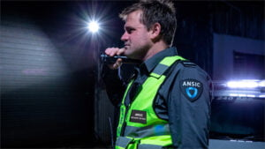 ANSIC Guard With Flashlight